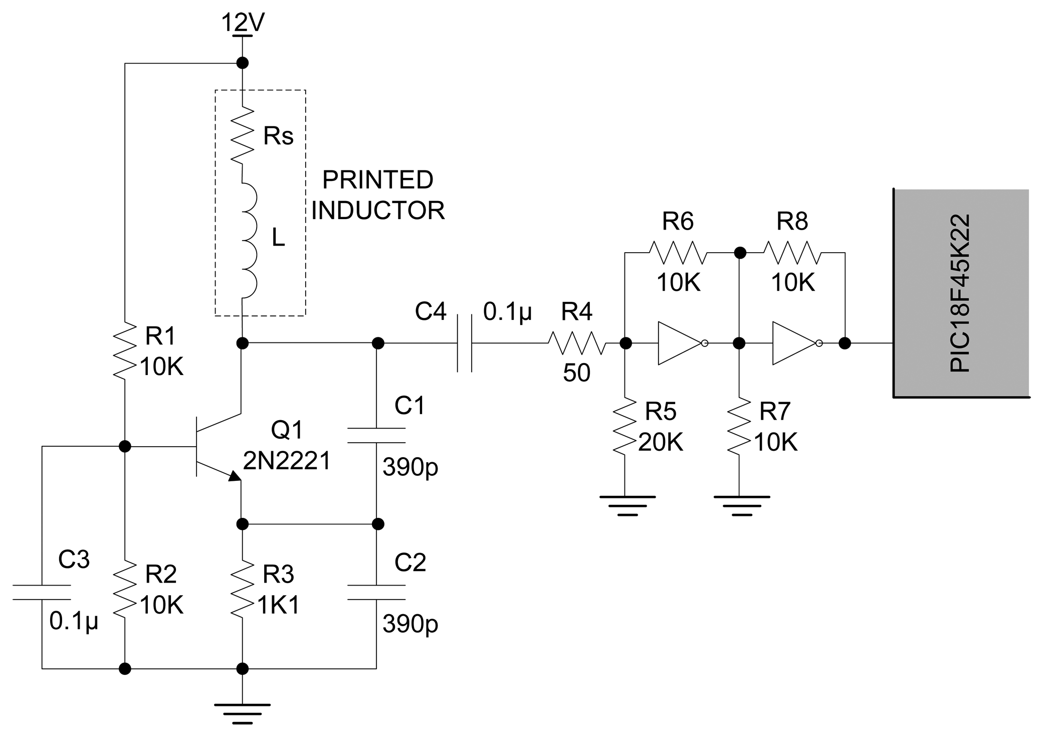 Eddy Current Detector Circuit Complete Wiring Diagrams Ac Measurement Sensors Free Full Text An Ink Jet Printed Position Rh Mdpi Com Sensing Sensor Equivalent