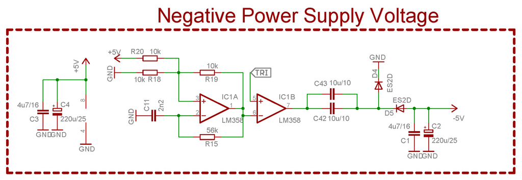 Negative Voltage Generator Negative Voltage Power