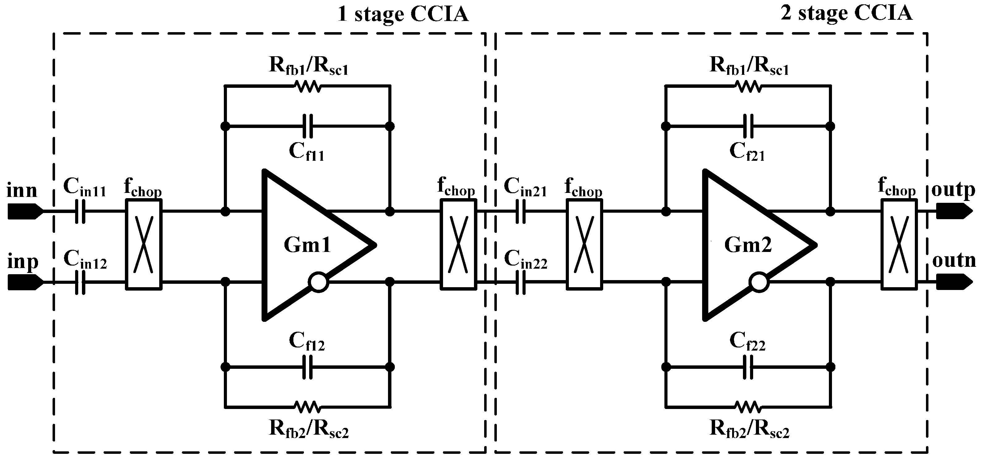 Circuit Diagram Of An Instrumentation Amplifier And Crystal Microphone