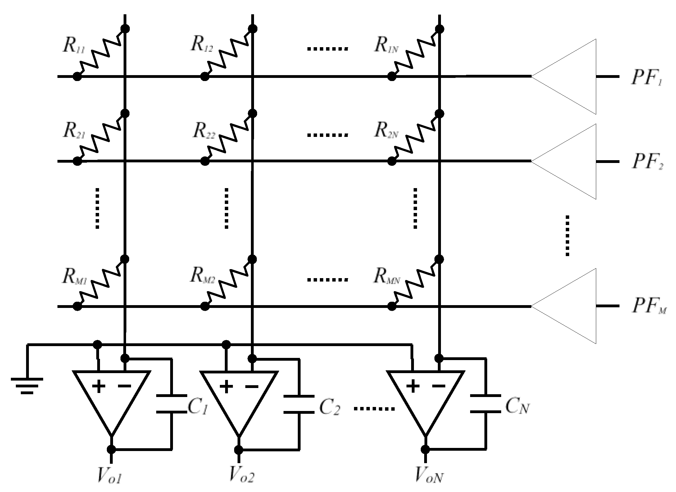 Sensors Free Full Text Improved Circuits With Capacitive Figure 1 The Schematic Diagram Of First Circuit Figures No