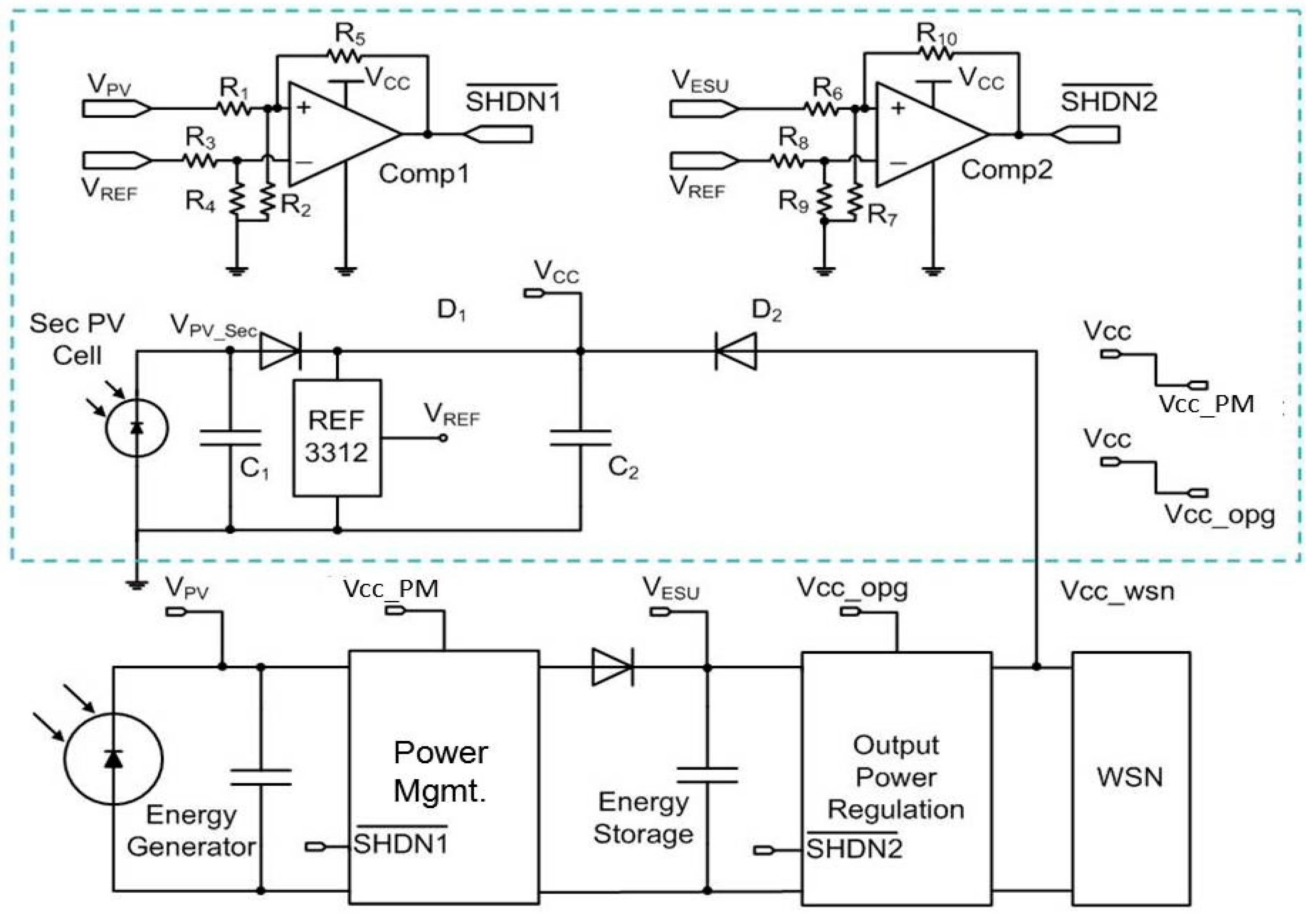 Sensors Free Full Text Design Of New Power Management Circuit In Circuits No