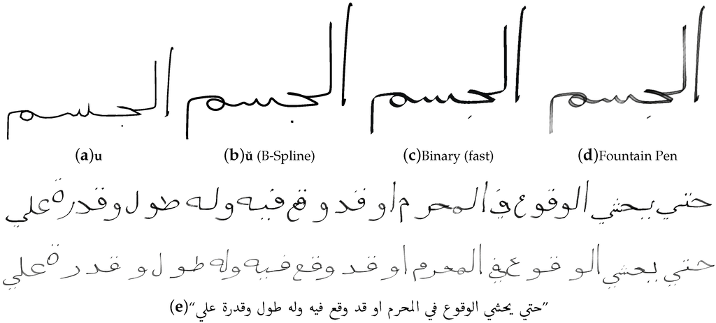 Thesis report master arabic word recognition