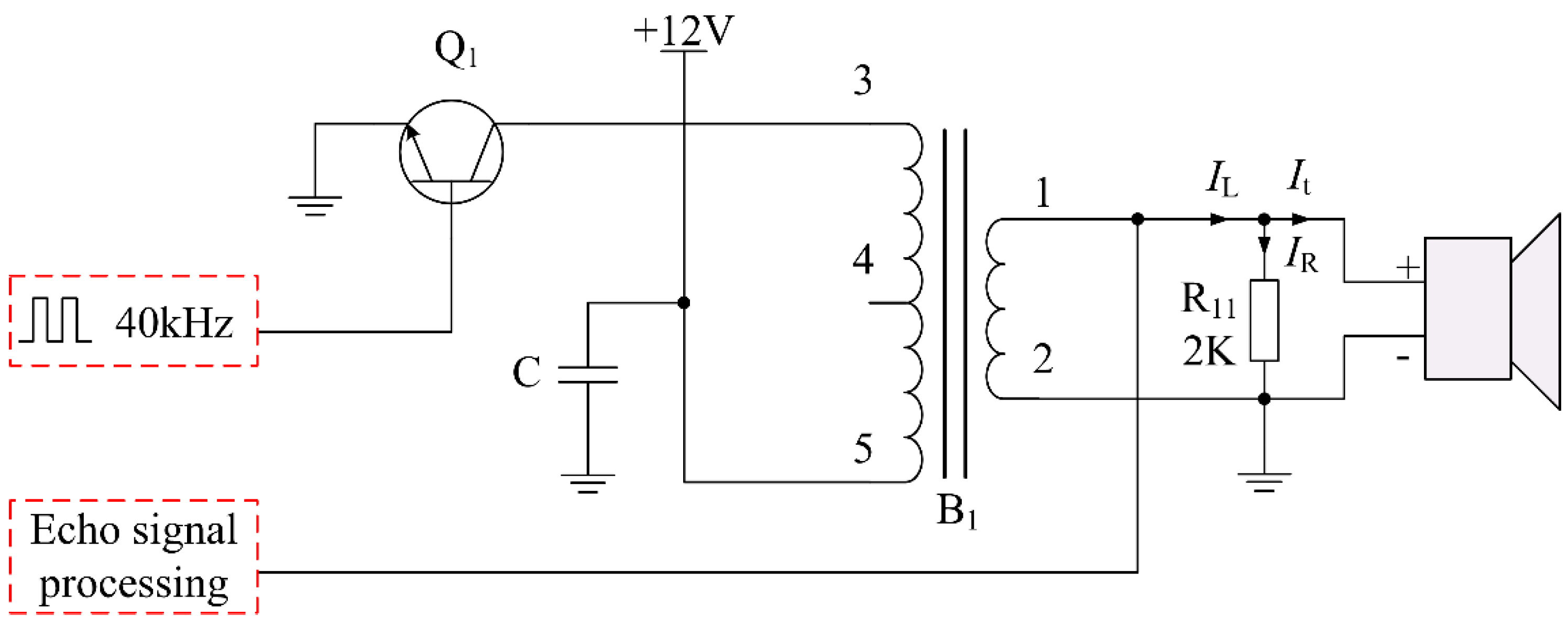 sensors free full text design and performance analysis of ansensors 16 00867 g004 figure 4 typical driving circuit of conventional ultrasonic