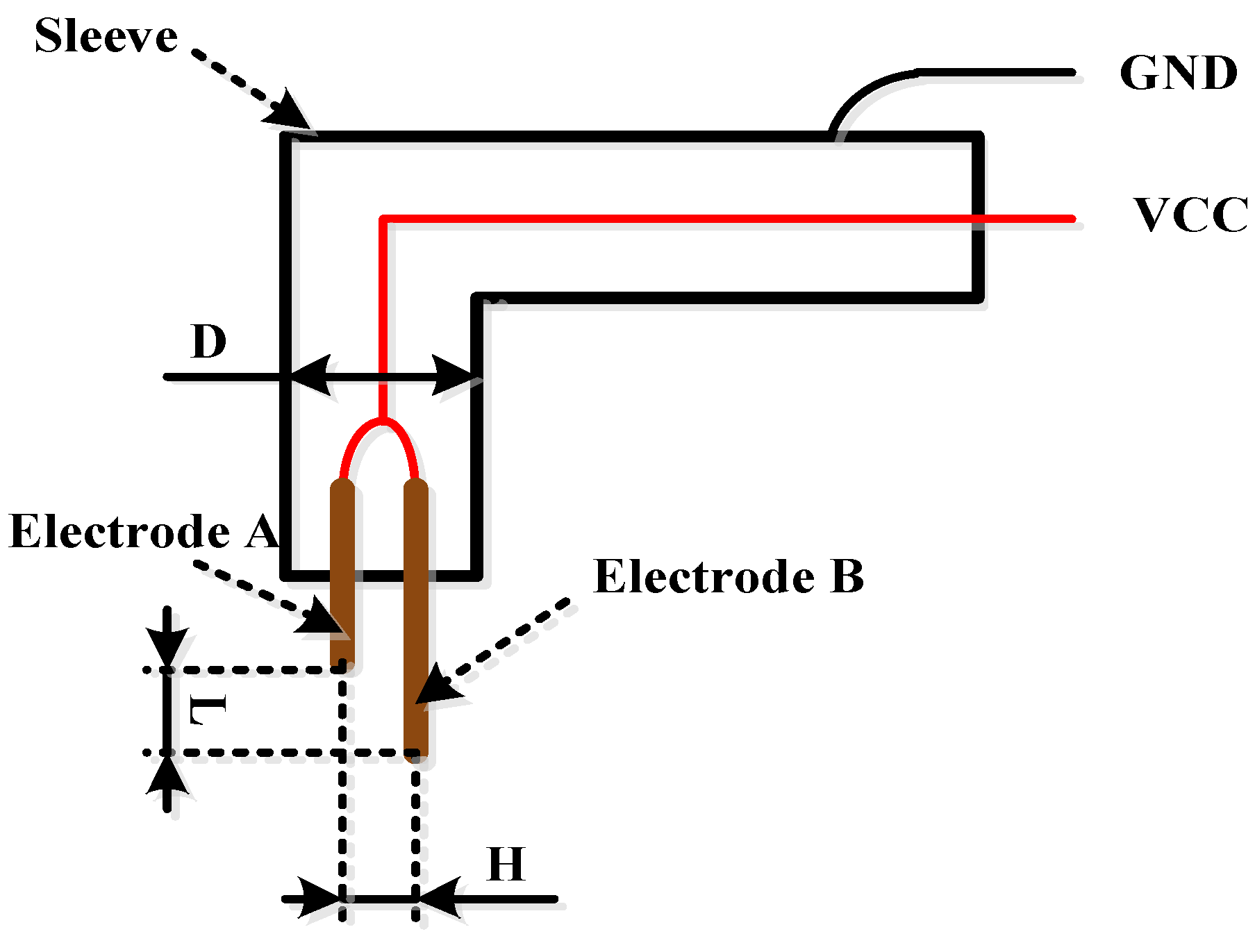 Sensors Free Full Text Research On The Conductivity Based Figure 1 Schematic Diagram For An Ultrasonic Transmitter Circuit 16 01520 G001