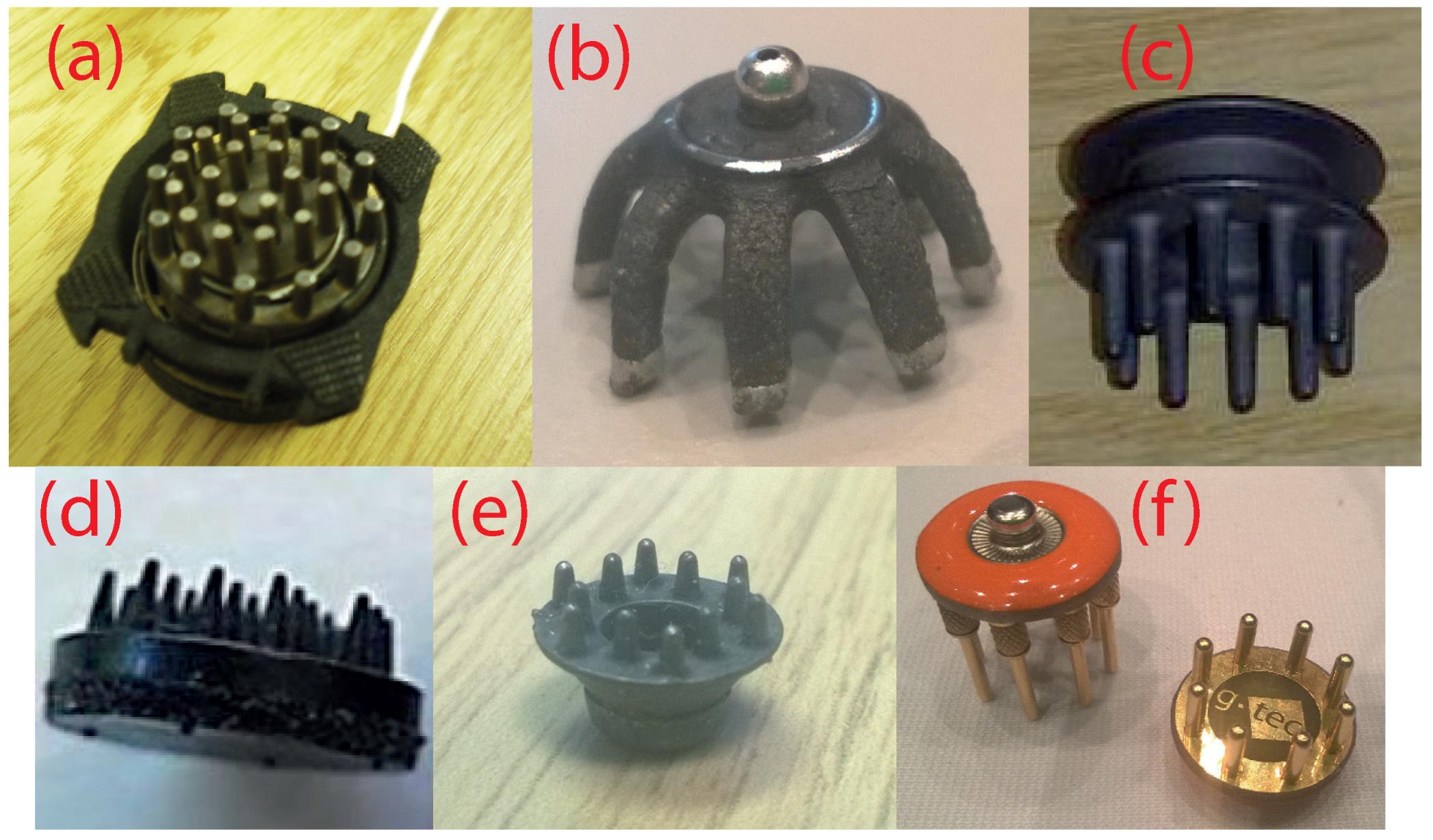 sensors free fulltext 3d printed dry eeg electrodes