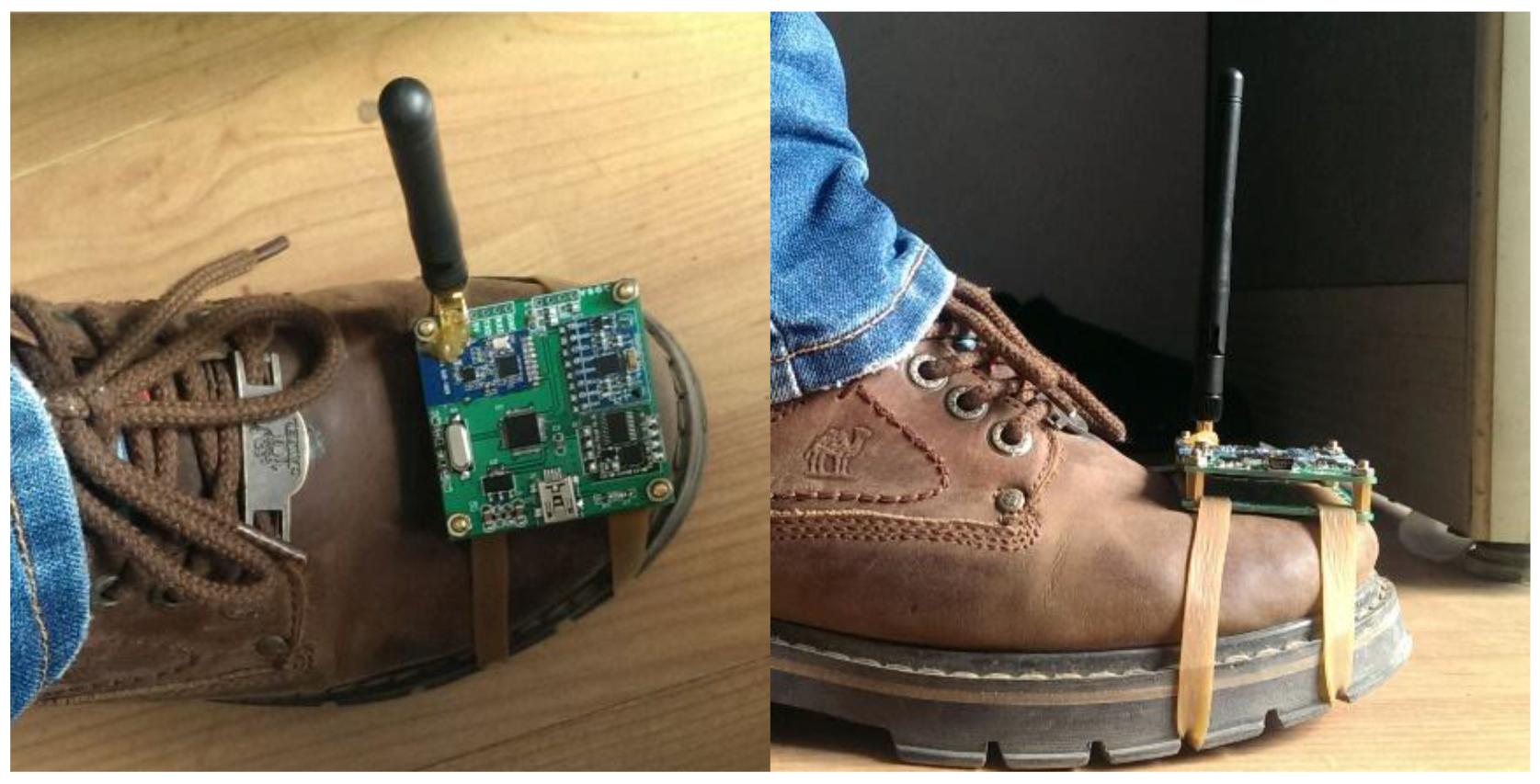 sensors full text d tracking via shoe sensing this