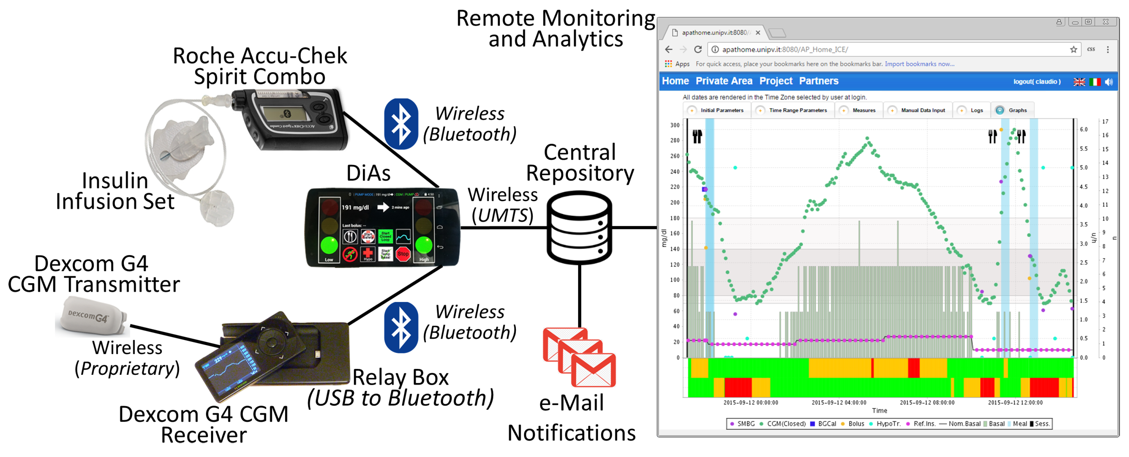 Sensors | Free Full-Text | Remote Blood Glucose Monitoring