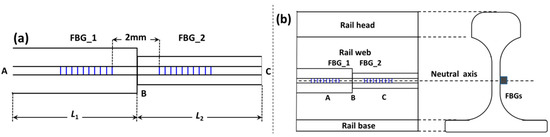 The Longitudinal Force Measurement of CWR Tracks with Hetero-Cladding FBG Sensors: A Proof of Concept