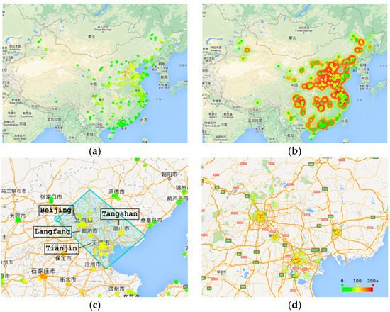 A Visual Analytics Approach for Station-Based Air Quality Data