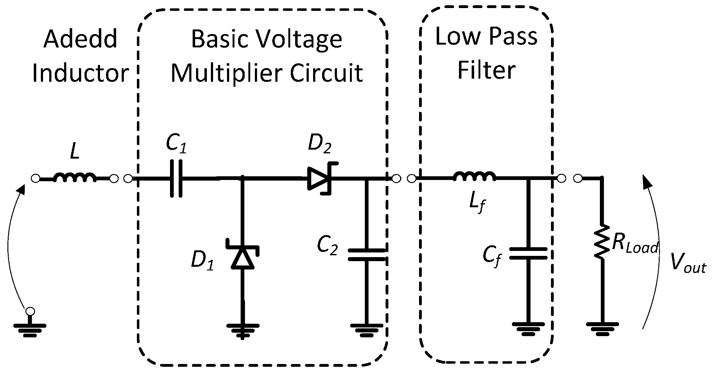 Very Low Voltage Multiplier Circuit Diagram Schematic Diagrams 120 Kv Fullwave Sensors Free Full Text Enhanced Passive Rf Dc Converter High Current Regulator
