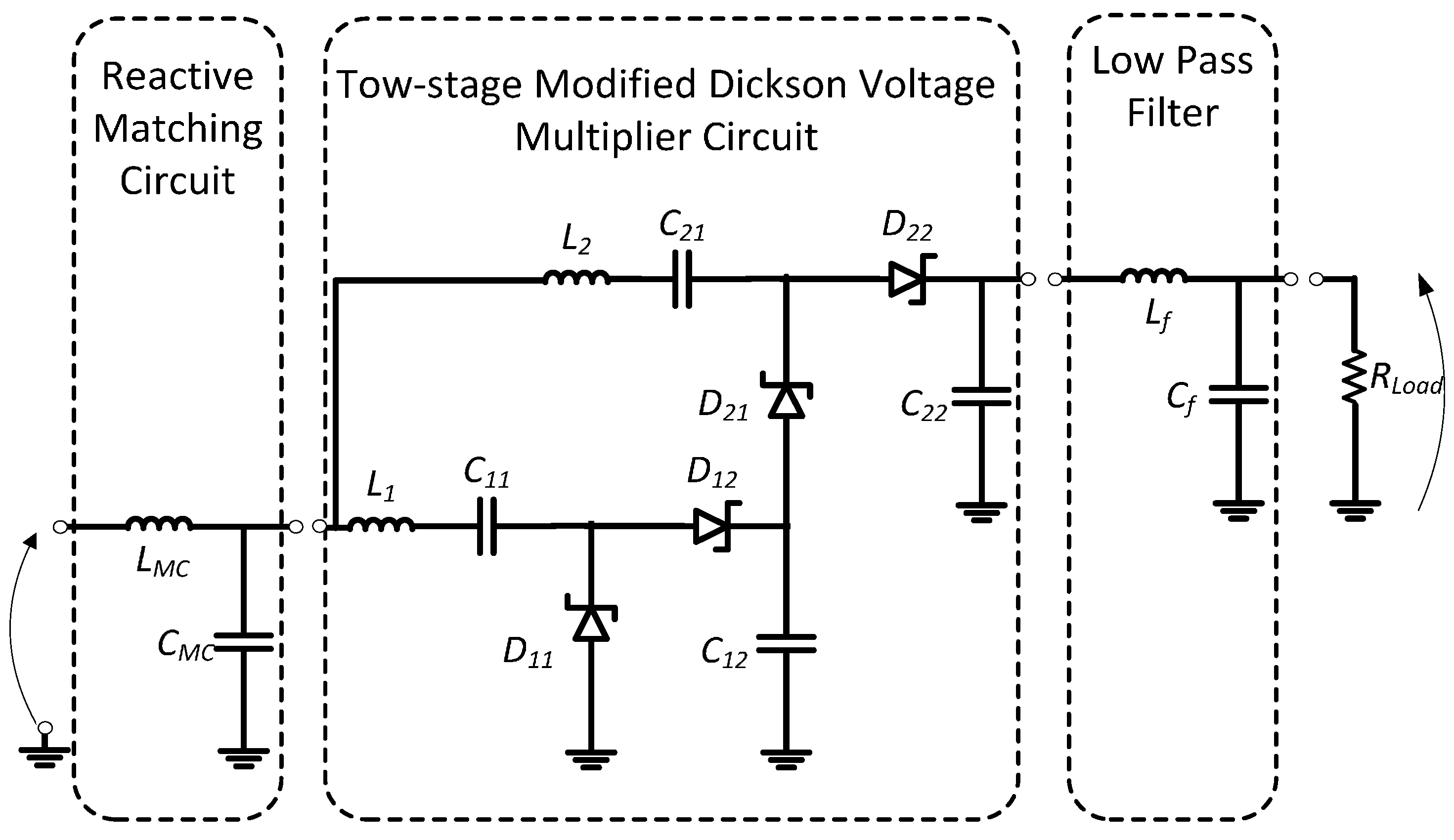 Sensors Free Full Text Enhanced Passive Rf Dc Converter Circuit Formulas To Solve Basic Electric Circuits Cost Builder 17 00546 G014