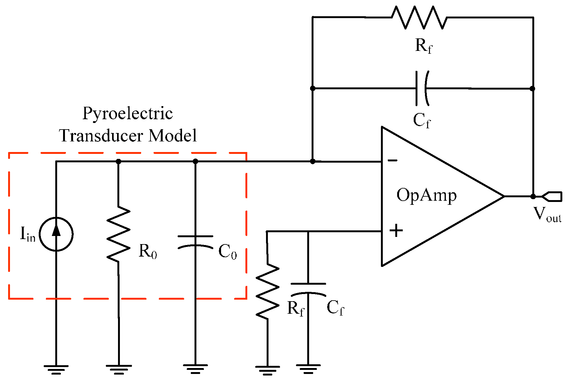 Sensors Free Full Text Pvdf Sensor Stimulated By Infrared Circuit Diagram Moreover 17 00850 G004 Figure 4 Schematic