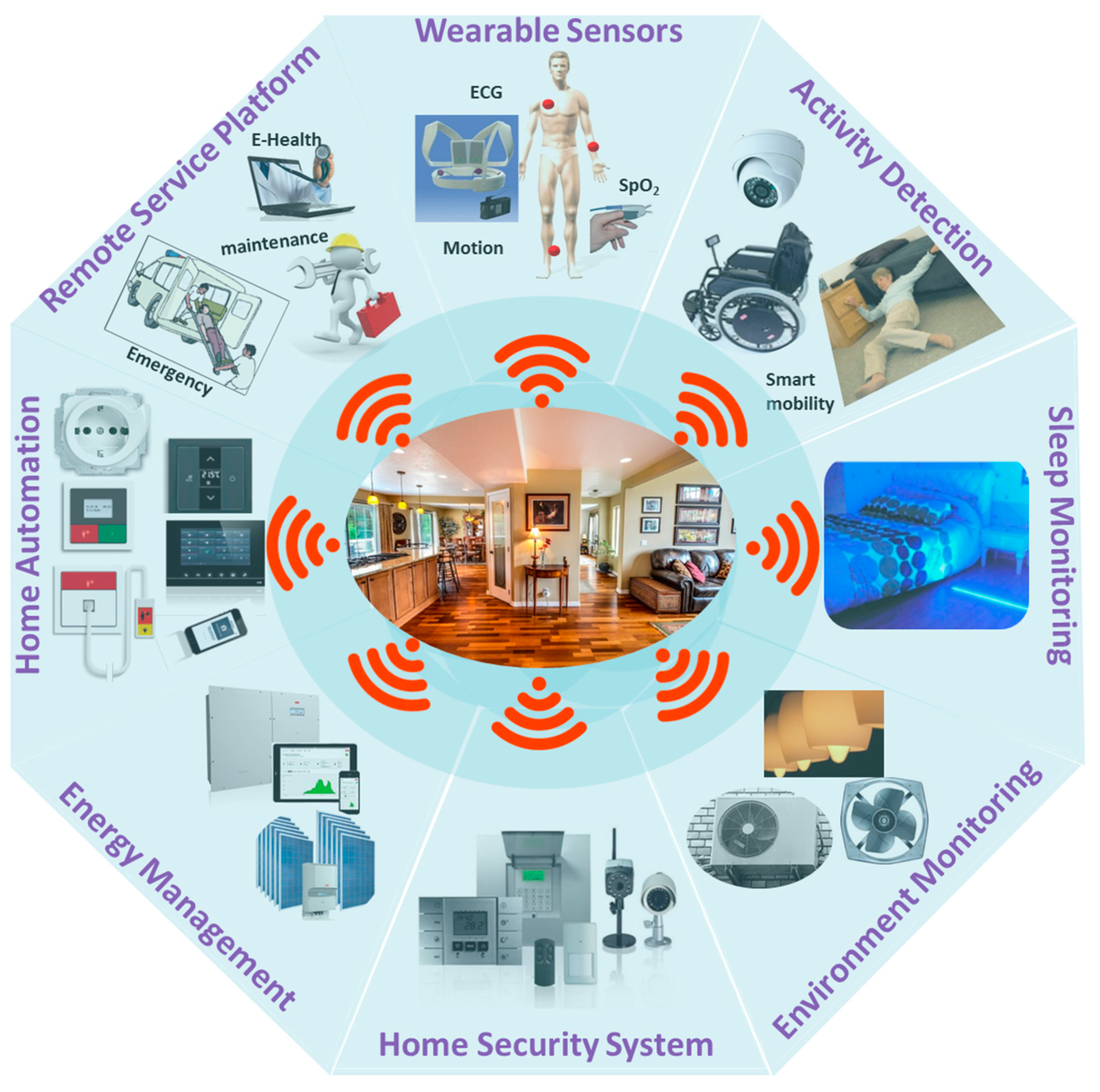 Sensors Free Full Text Smart Homes For Elderly