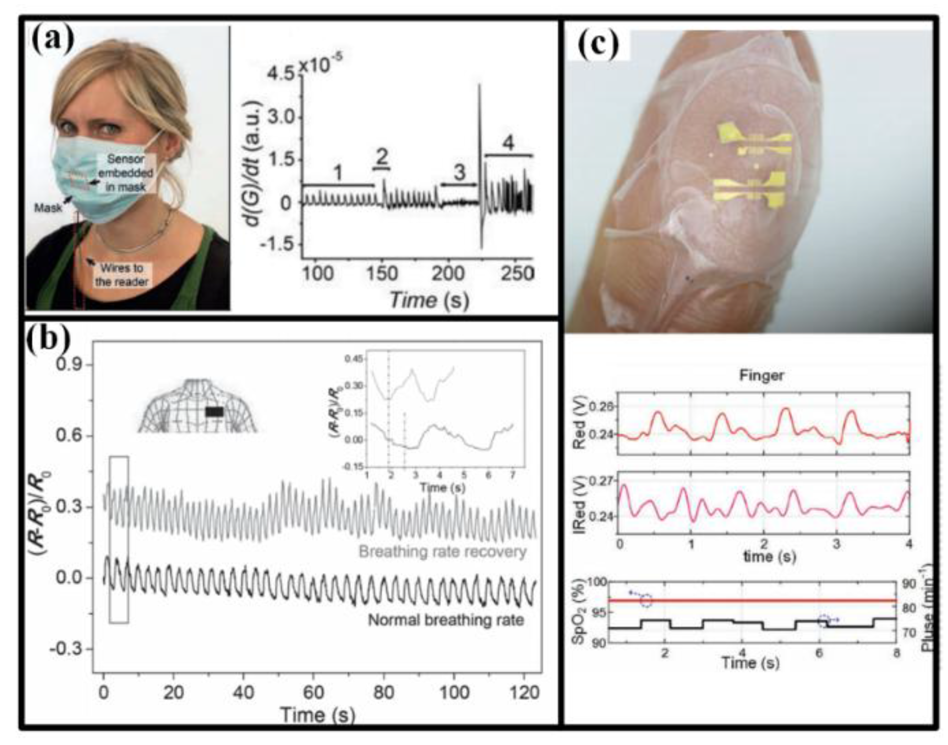 Sensors Free Full Text Flexible Stretchable For Design Of A Human Machine Interface Hmi Heartrate Monitor Heart Rate Pulse And Ecg