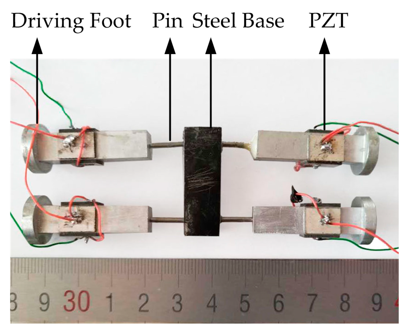 Sensors Free Full Text A Quadruped Micro Robot Based On Piezo Driver Circuit No