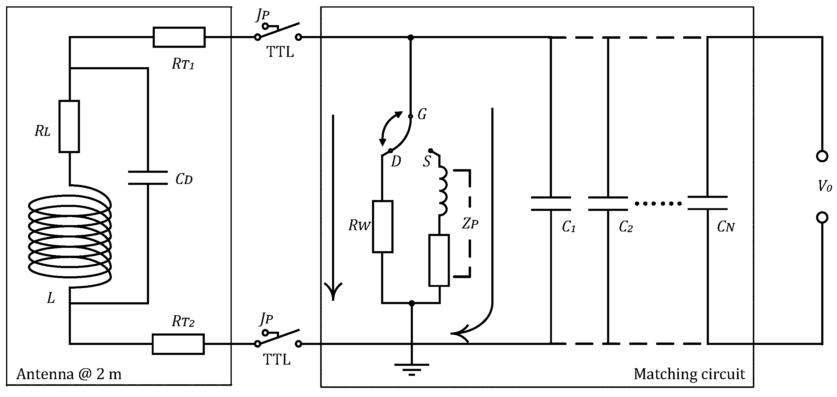 Sensors Free Full Text Design Of Meter Scale Antenna And Signal Inductance Circuit No