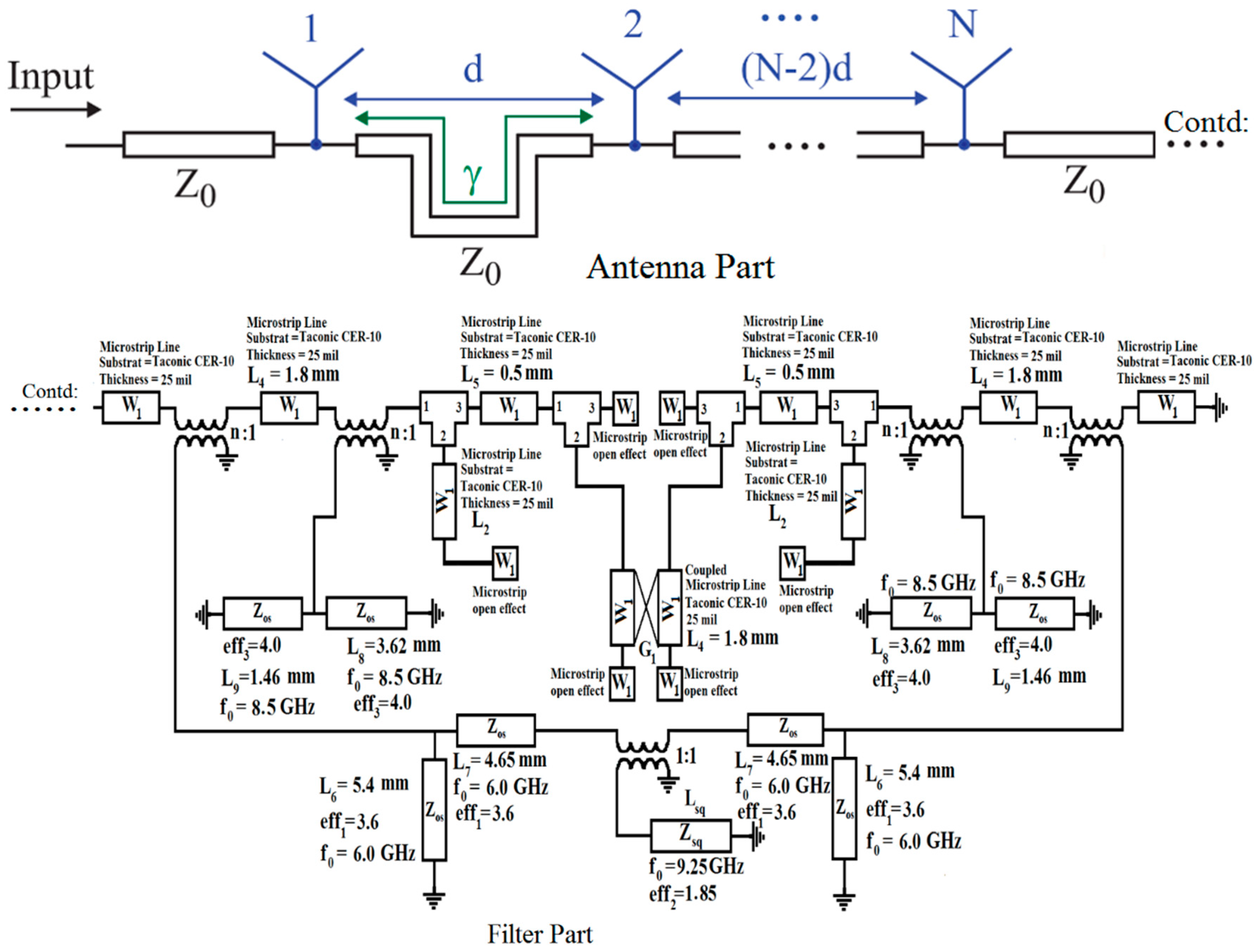 Sensors Free Full Text Bandwidth Enhancement And Frequency L Filter Circuit Diagram No