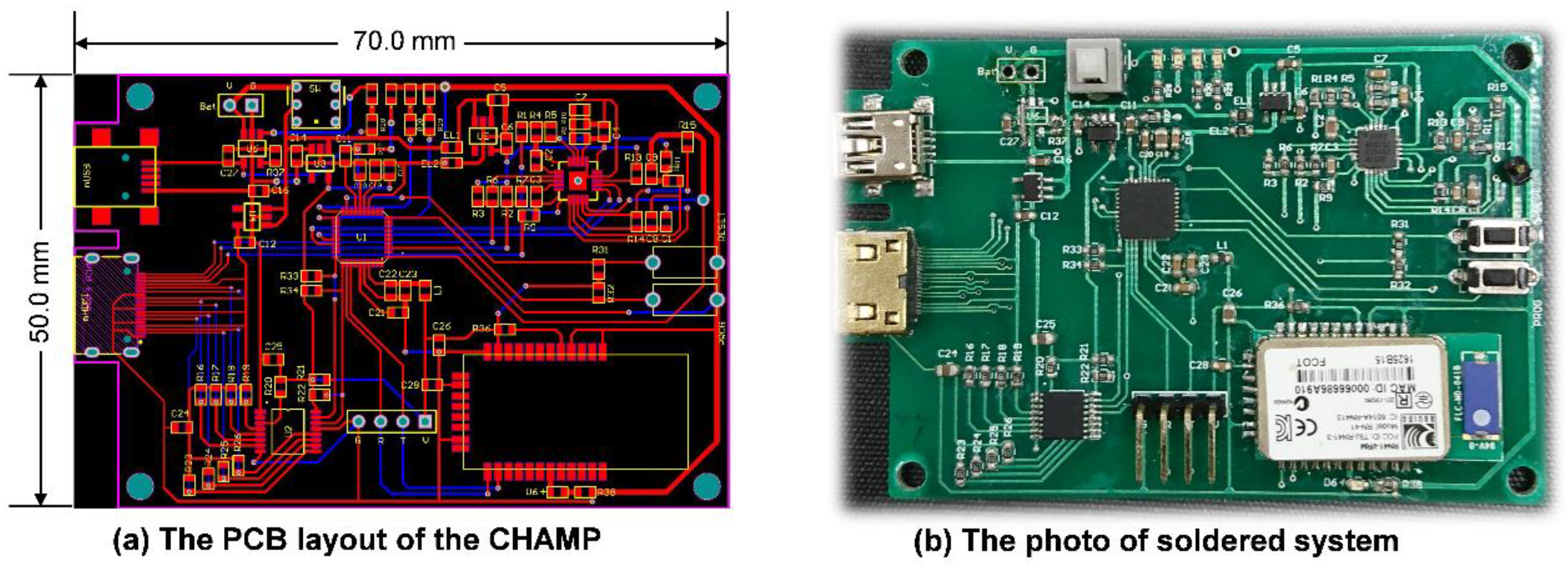 Sensors Free Full Text Realization And Technology Acceptance Figure 2 The Components Layout Of This Circuit Figures No