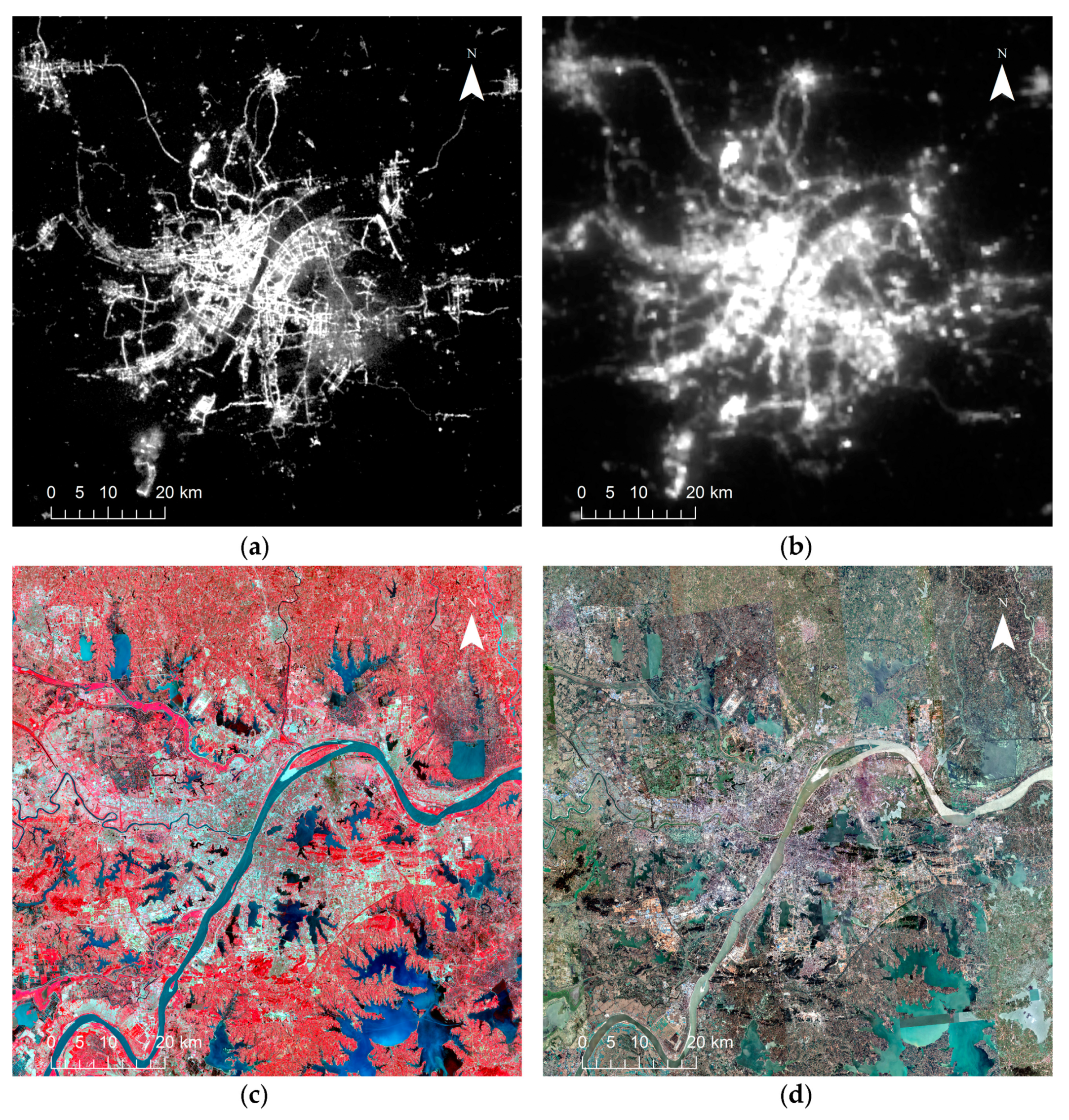 Sensors   Free Full-Text   Mapping Urban Extent Using Luojia