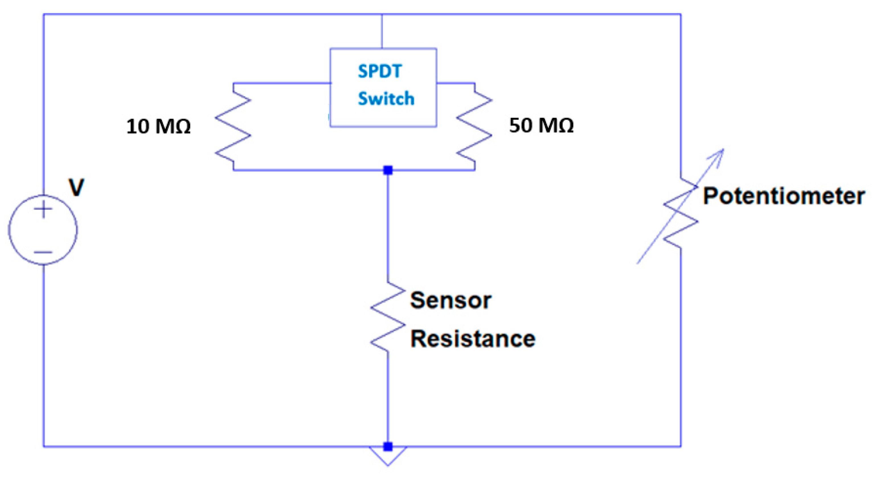 Room Noise Detector Circuit Schematic