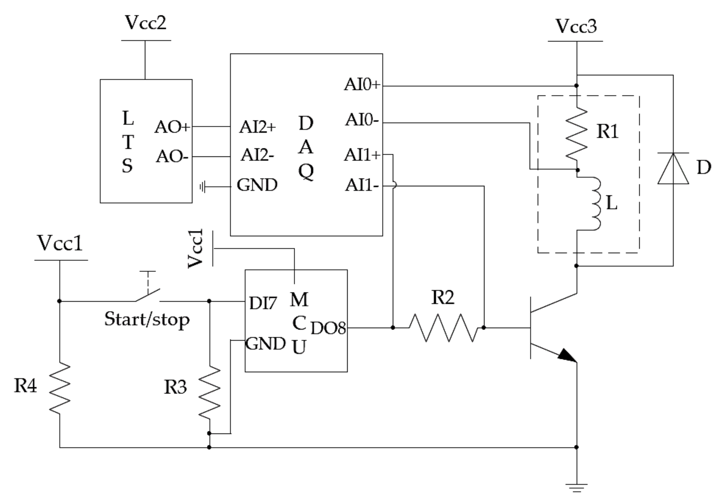 Sensors Free Full Text Coil Inductance Model Based Solenoid On Photocell Switch Wiring Diagram Share The Knownledge No
