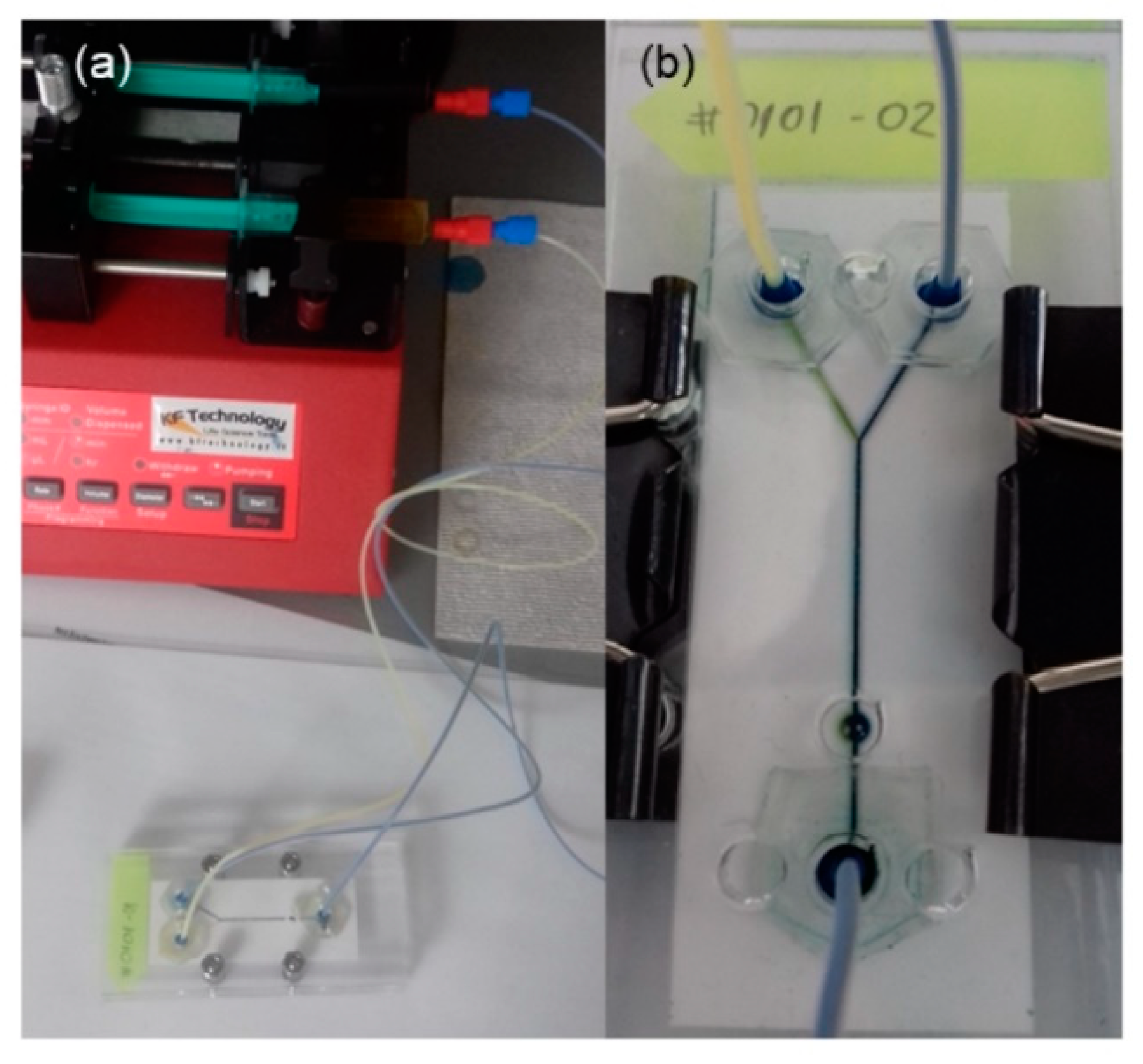 Sensors | Free Full-Text | Novel Cost-Effective Microfluidic
