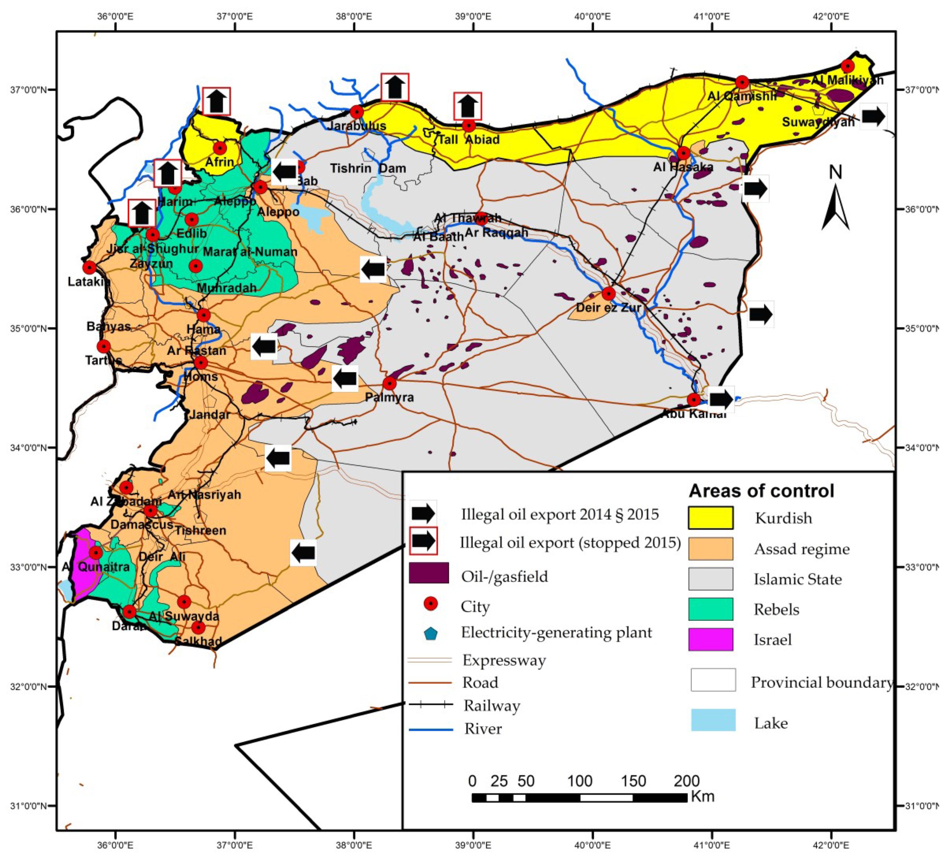 Syria Natural Resources Oil