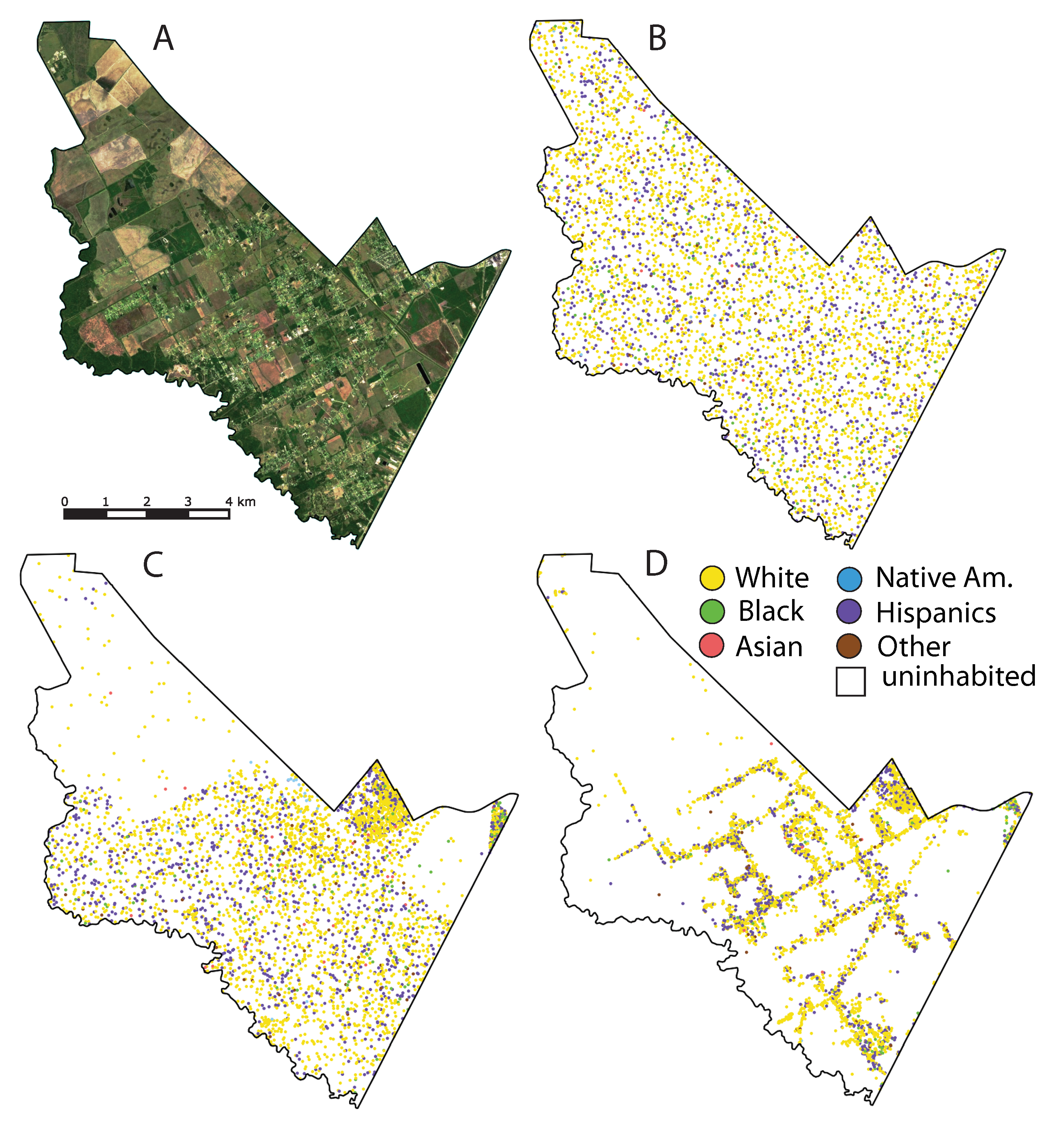 Social Sciences | Free Full-Text | Racial Dot Maps Based on ... on