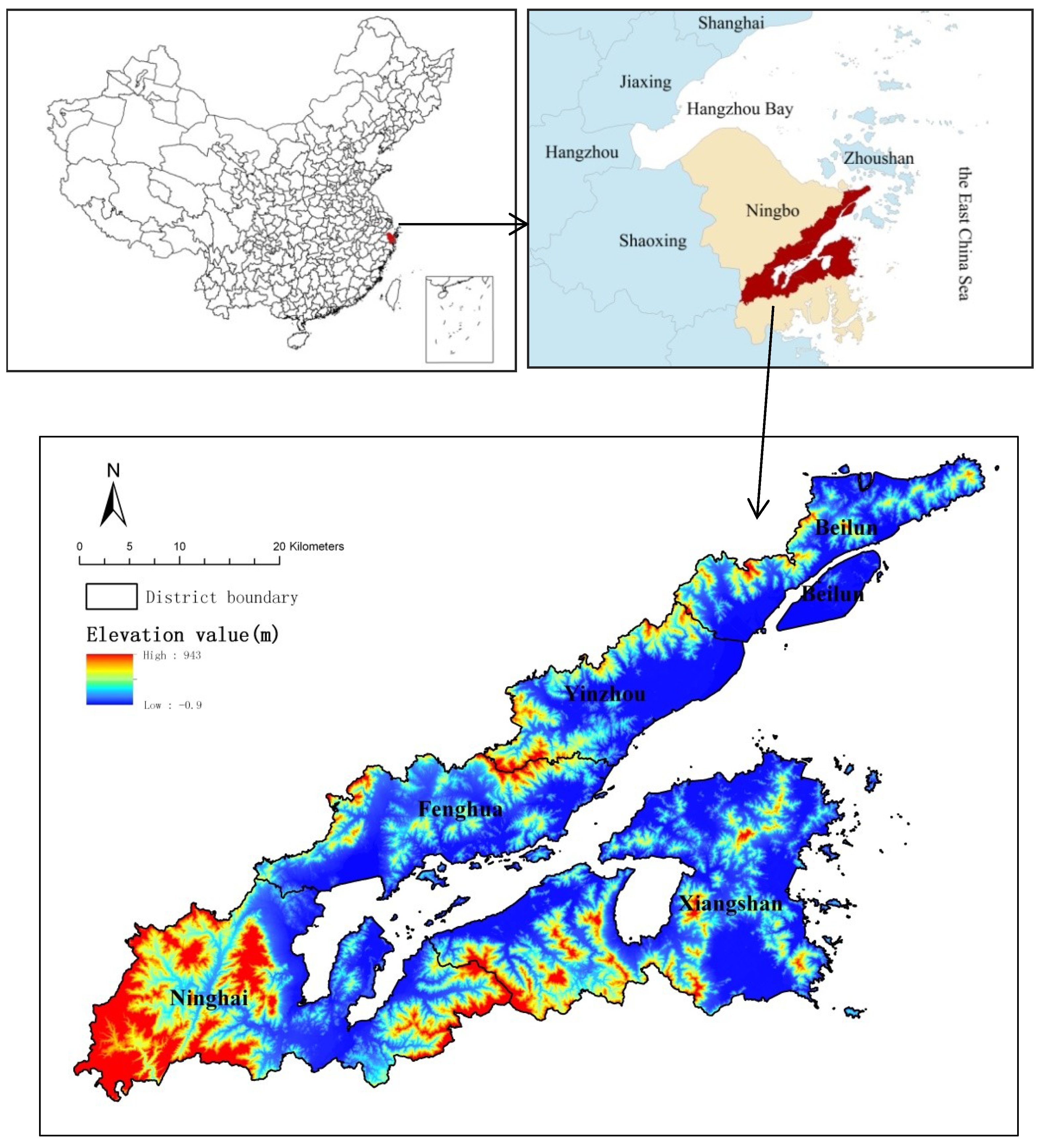 Sustainability Free FullText Differences In Pattern And - Fenghua map