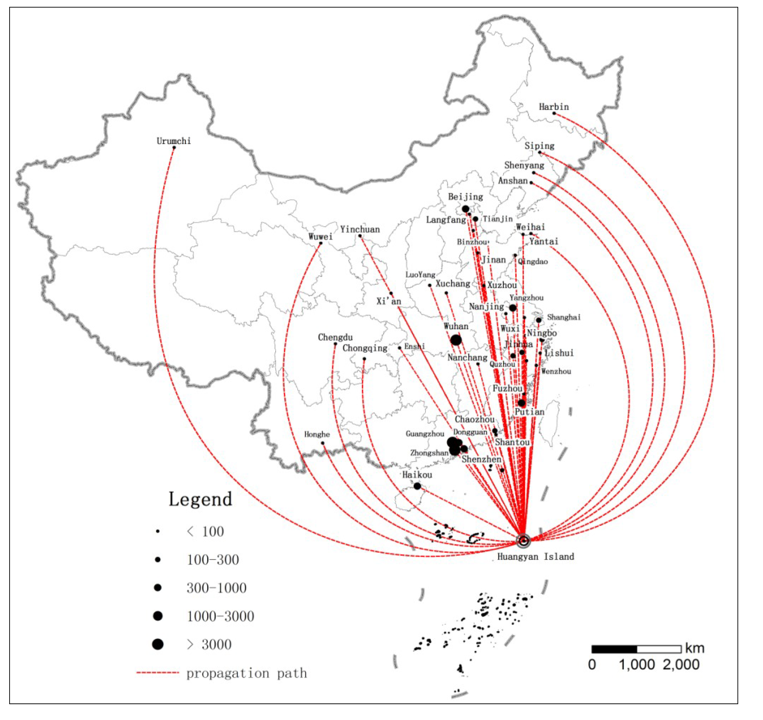 Sustainability Free FullText Using Web Crawler Technology For - Huangyan map