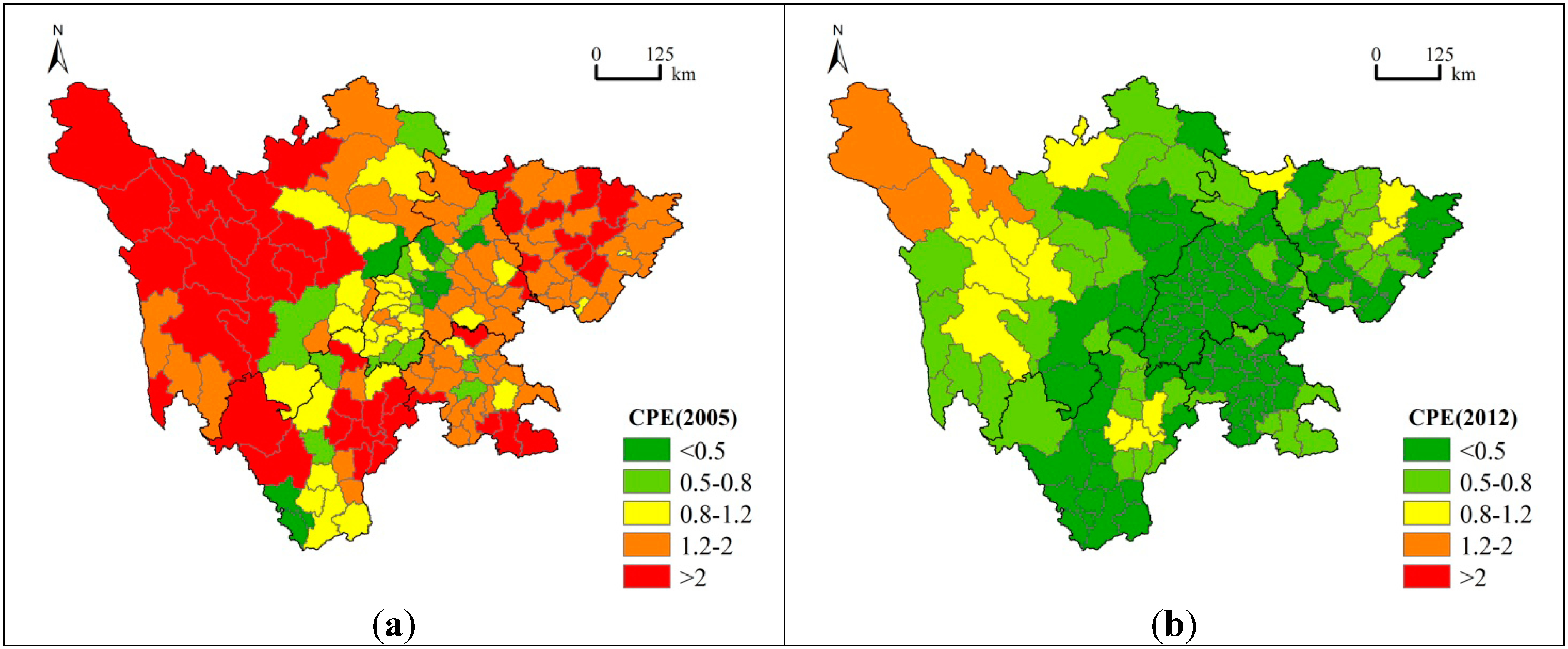 Spatial Distribution of Migration and Economic Development: A Case Study of Sichuan Province, China