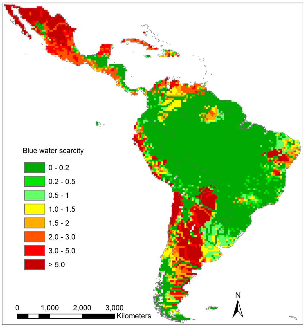 Water pollution in south america essays