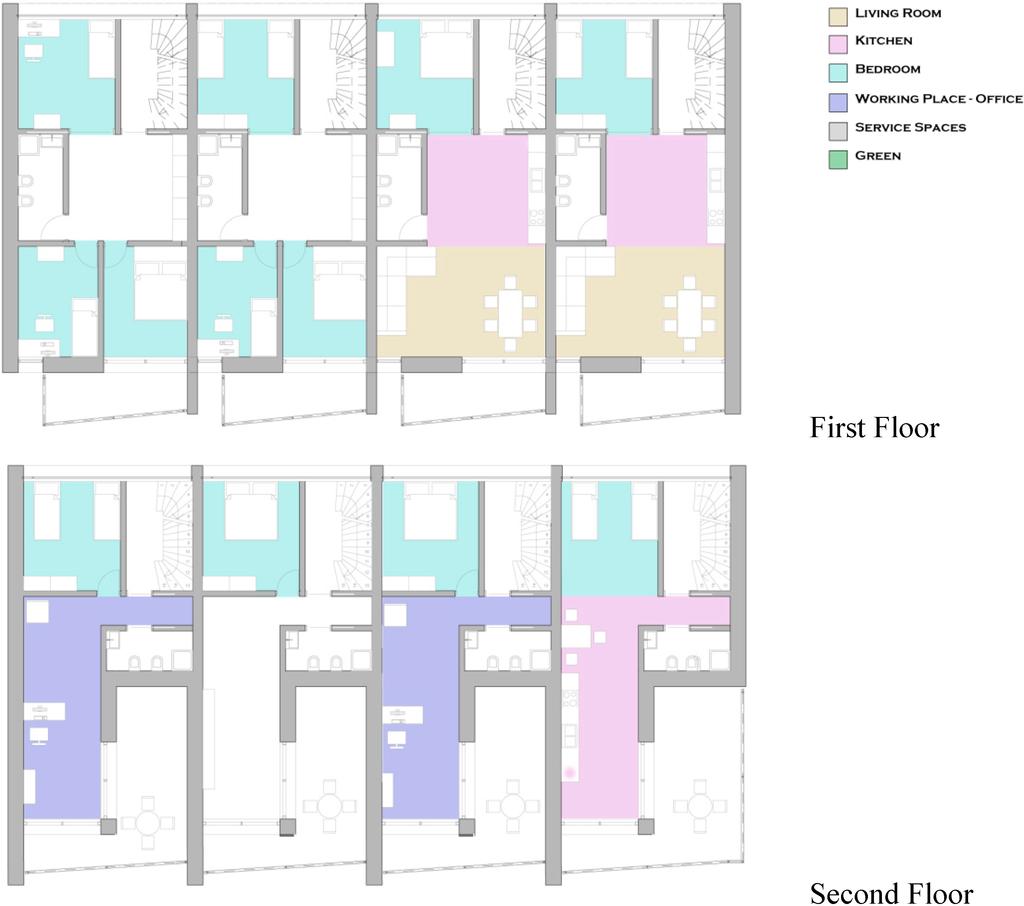 Flexible House Floor Plans