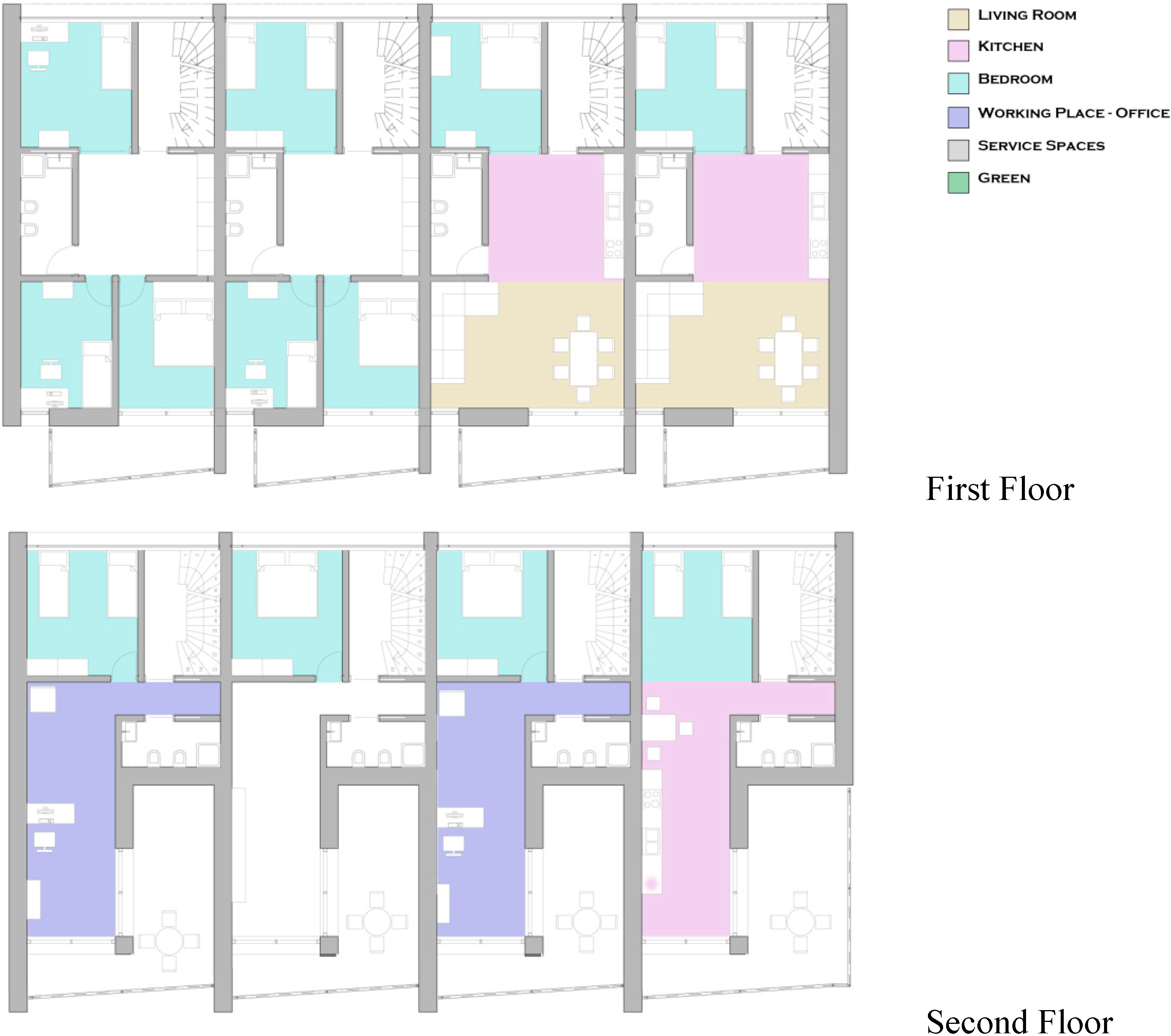 Sustainability free full text redesigning terraced for Flexible house plans