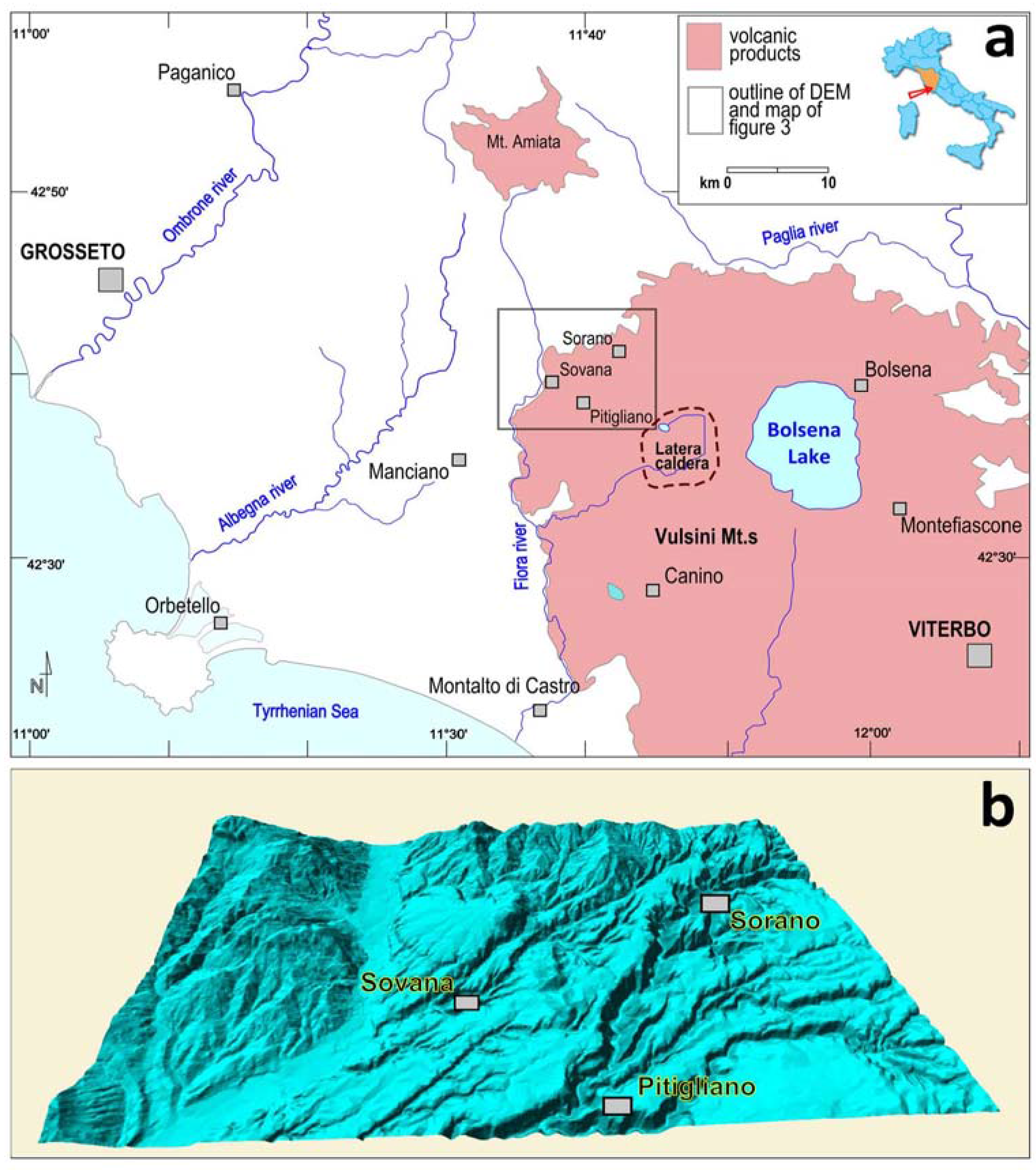 Sustainability Free FullText The Vie Cave Geomorphological Site