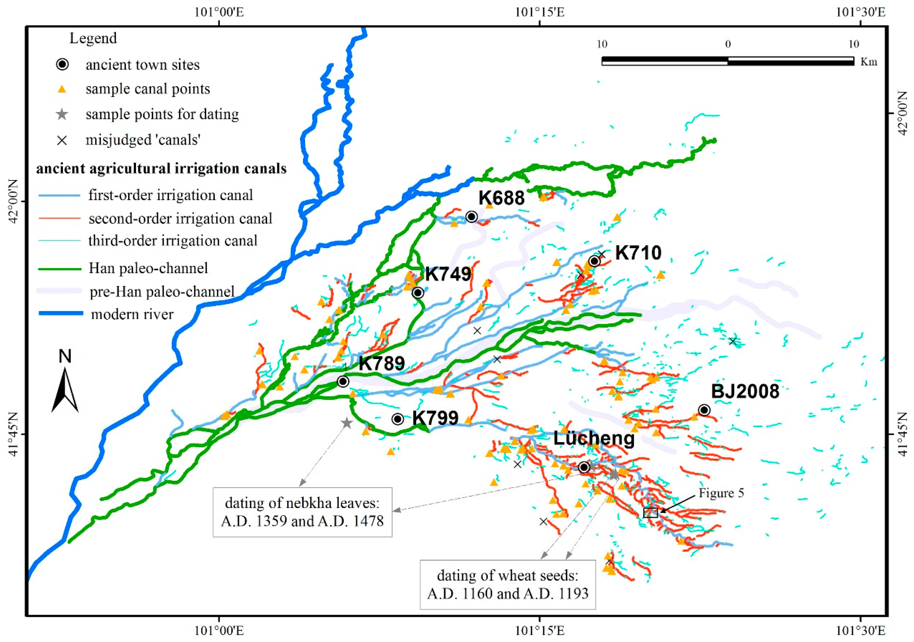 Sustainability | Free Full-Text | Ancient Irrigation Canals Mapped