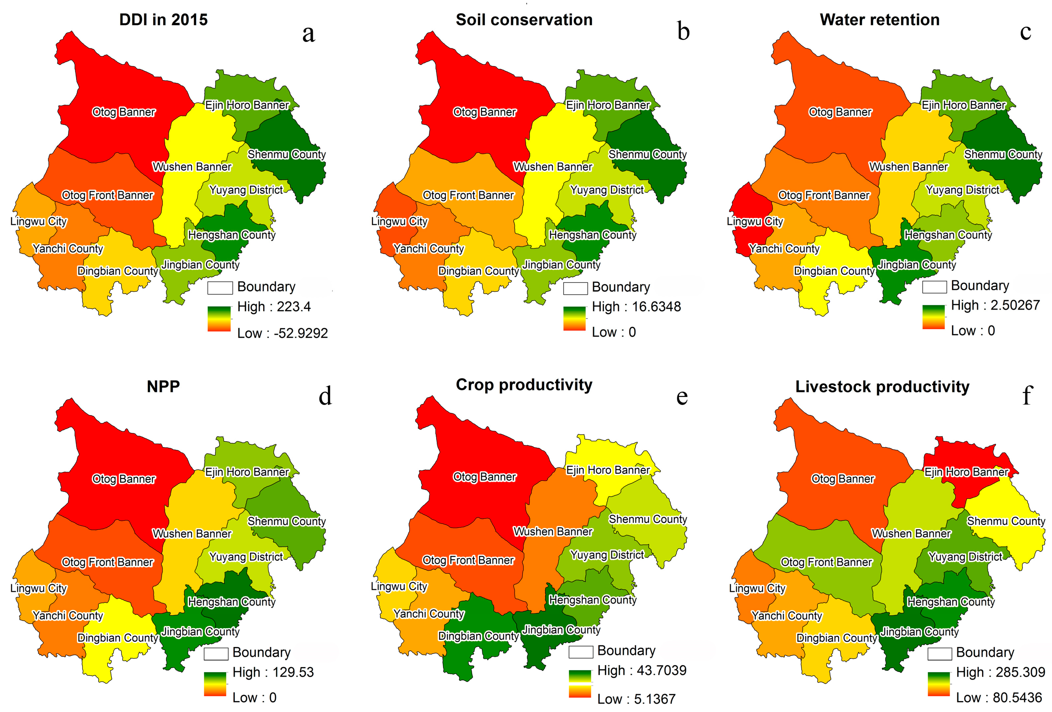 Sustainability Free FullText Spatiotemporal Patterns Of - Desertification Us Soil Erosion Map Us