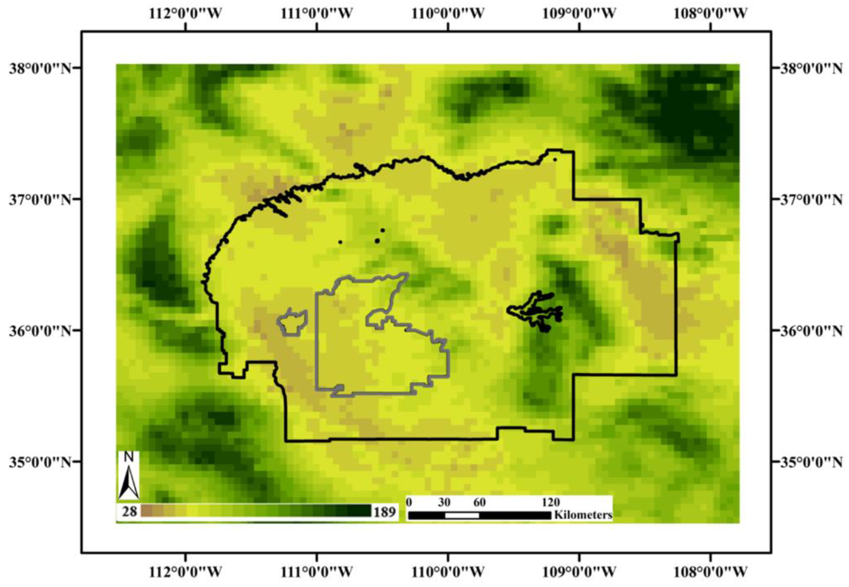 Sustainability | Free Full-Text | Characterizing Drought Effects on on four corners region, map of arizona and 4 corners, map of west region,