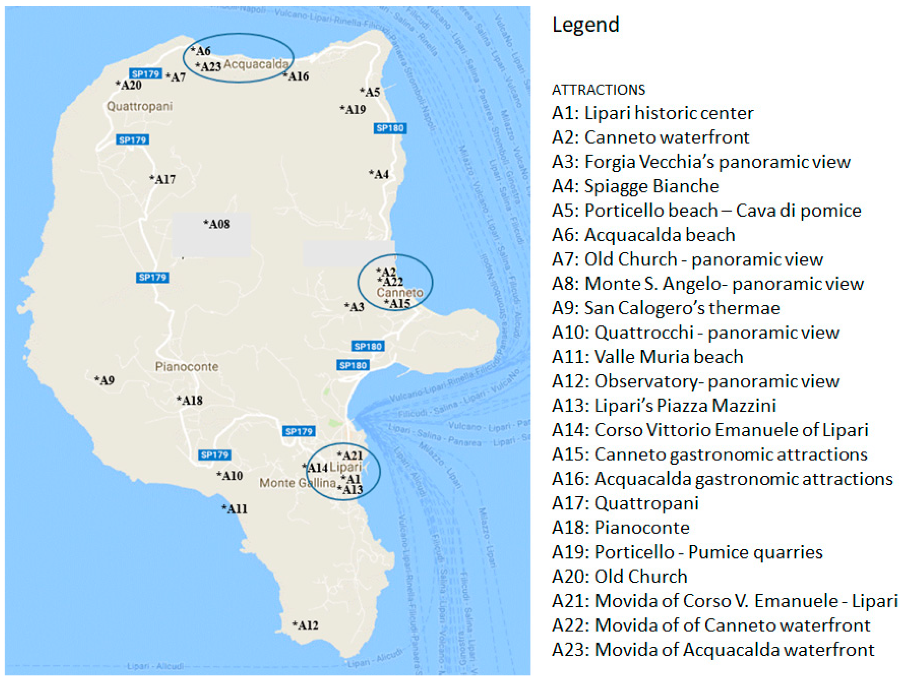 Islands Of Italy Map.Sustainability Free Full Text Using The Network And Mca On
