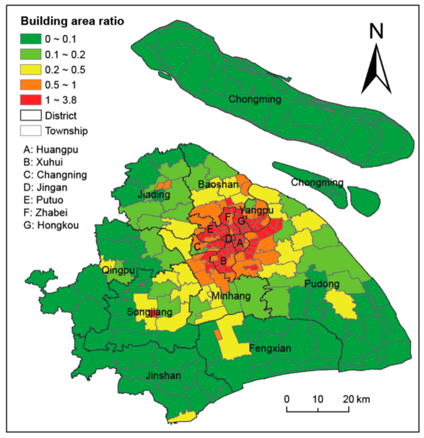 Building Asset Value Mapping in Support of Flood Risk Assessments: A Case Study of Shanghai, China