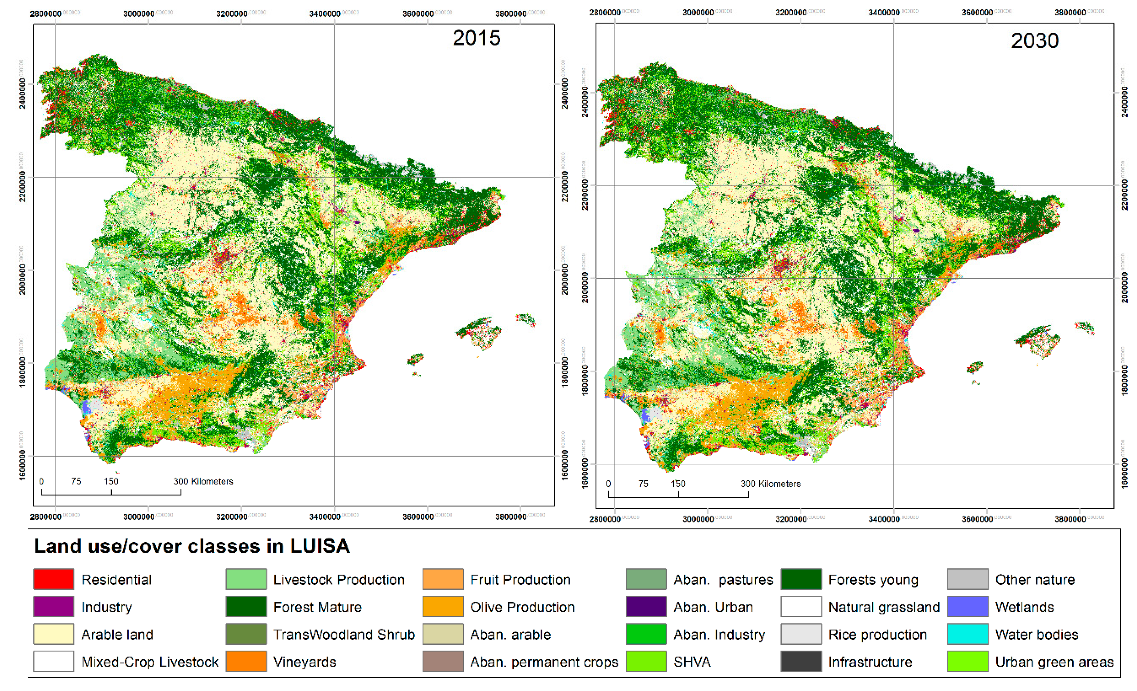 Sustainability Free Full Text An Assessment And Spatial Modelling Of Agricultural Land Abandonment In Spain 2015 2030 Html
