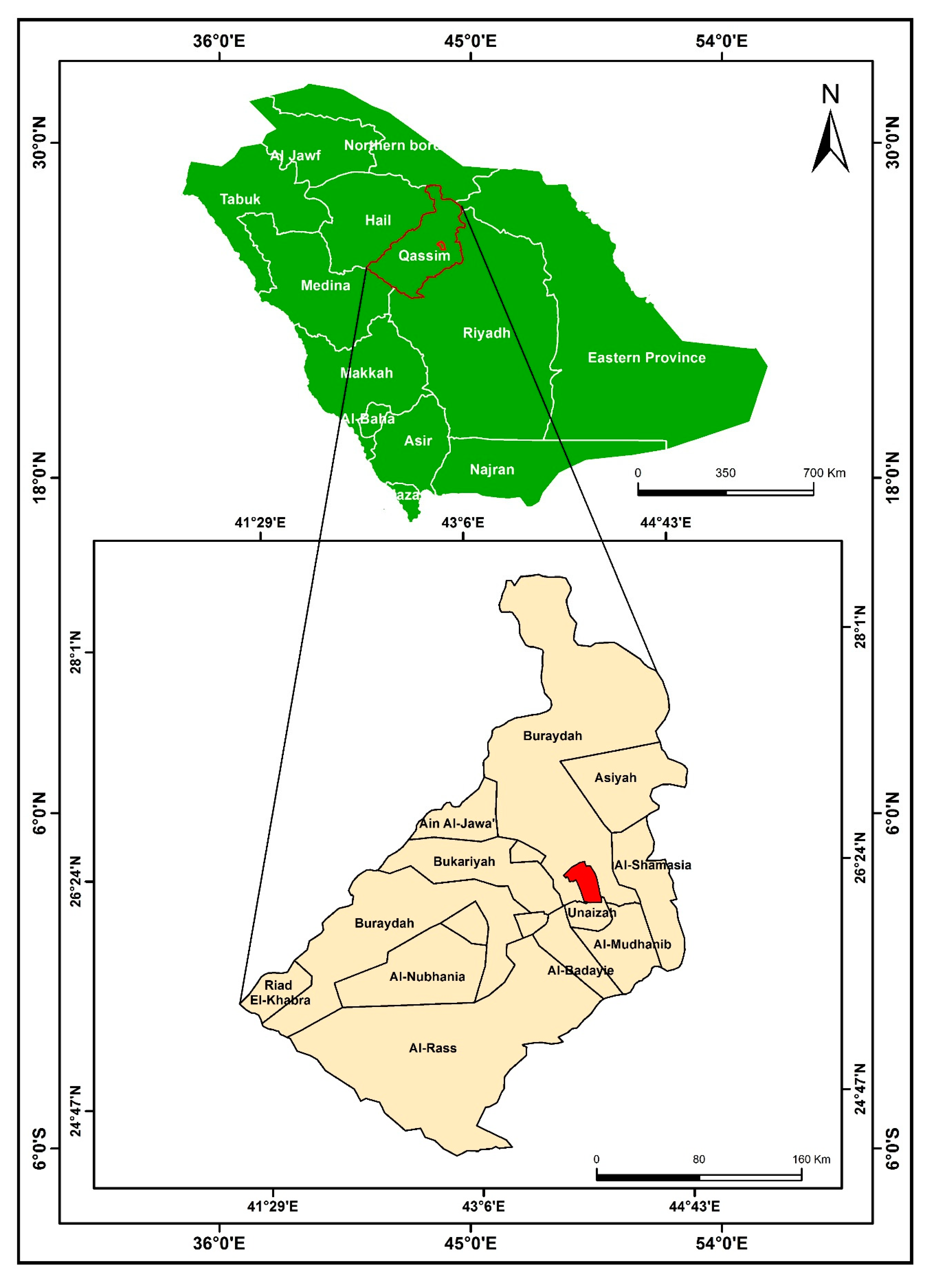 Sustainability Free Full Text Integrating Gis Accessibility And Location Allocation Models With Multicriteria Decision Analysis For Evaluating Quality Of Life In Buraidah City Ksa Html