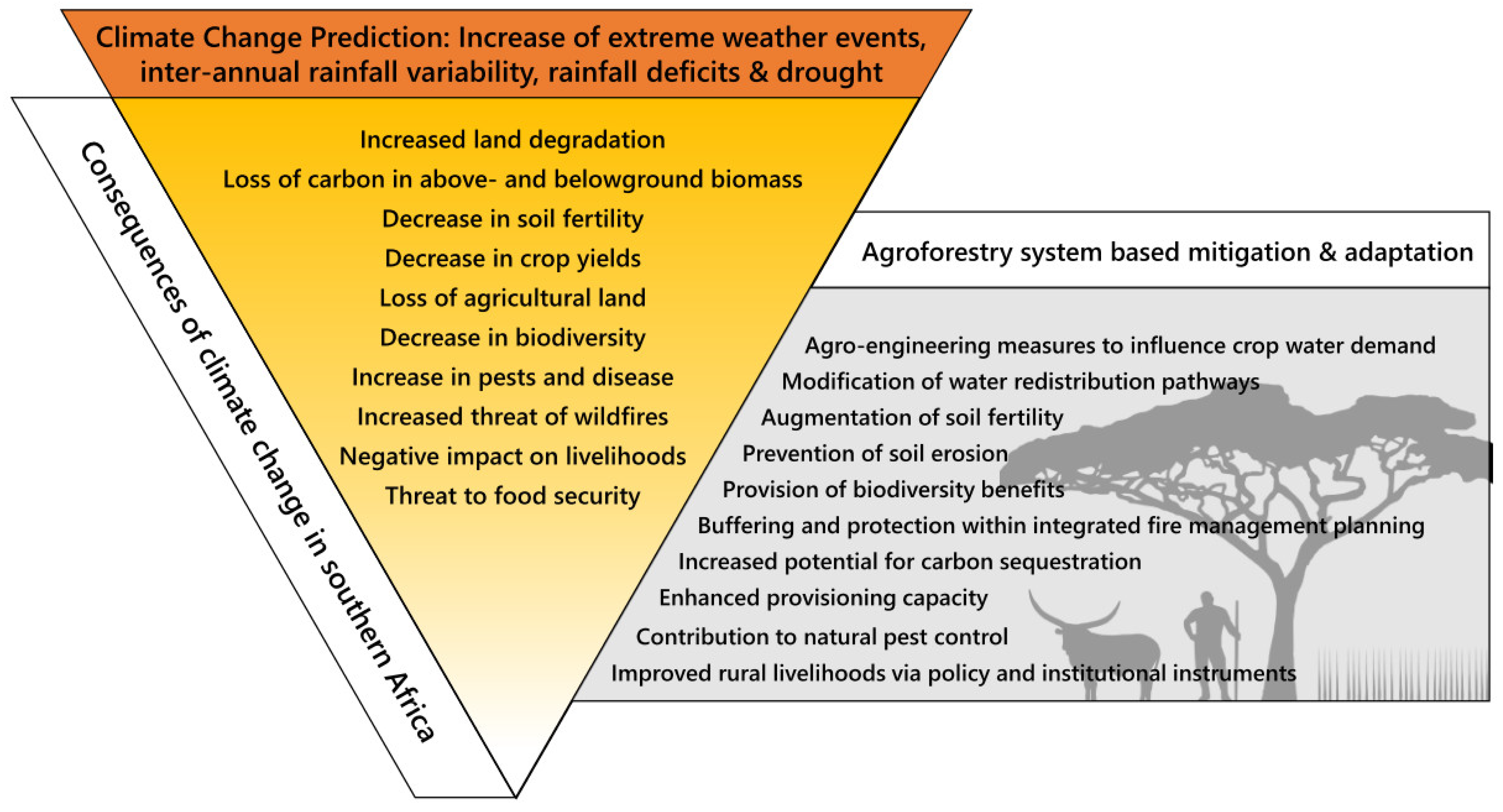 Sustainability Free Full Text Agroforestry An Appropriate And Sustainable Response To A Changing Climate In Southern Africa Html