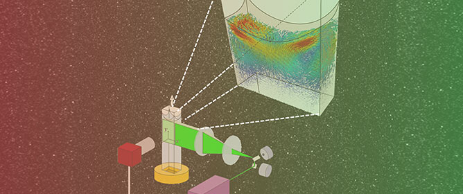 Three-Dimensional Reconstruction of Evaporation-Induced Instabilities Using Volumetric Scanning Particle Image Velocimetry