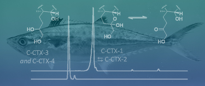 LC–HRMS and Chemical Derivatization Strategies for the Structure Elucidation of Caribbean Ciguatoxins: Identification of C-CTX-3 and -4