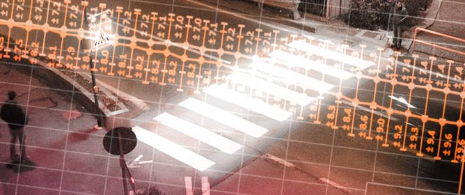 The Effect of a LED Lighting Crosswalk on Pedestrian Safety: Some Experimental Results