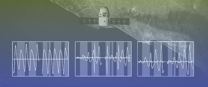 Numerical Modelling of Satellite Downlink Signals in a Finslerian-Perturbed Schwarzschild Spacetim