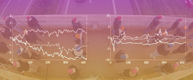 Vision-Based Methodology for Characterizing the Flow of a High-Density Crowd on Footbridges