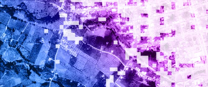 Data Fusion of Scanned Black and White Aerial Photographs with Multispectral Satellite Images