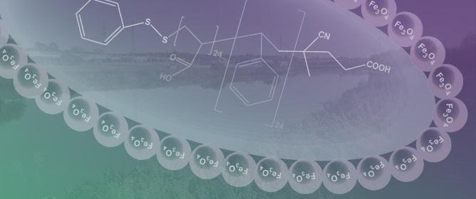 Polystyrene Magnetic Nanocomposites as Antibiotic Adsorbents